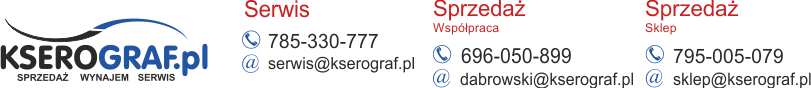 Sprzedaż wynajem kserokopiarek- Kserograf.pl